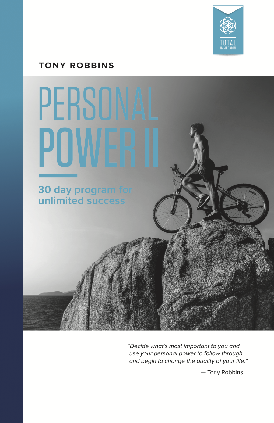 Workbooks total transformation workbook : Personal Power 2, Increase Personal Power with Tony Robbins